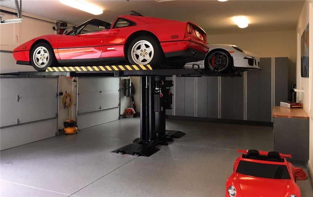 Unic parking lift voiture garage